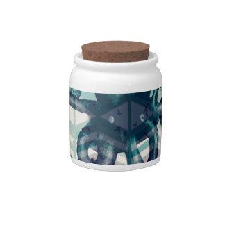 kraken Aztec vintage Candy Jars