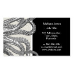 Kraken - Black Giant Octopus / Cthulu Double-Sided Standard Business Cards (Pack Of 100)