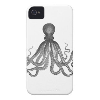 Kraken - Black Giant Octopus / Cthulu iPhone 4 Case