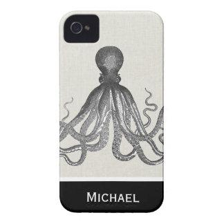 Kraken - Black Giant Octopus / Cthulu iPhone 4 Case-Mate Cases