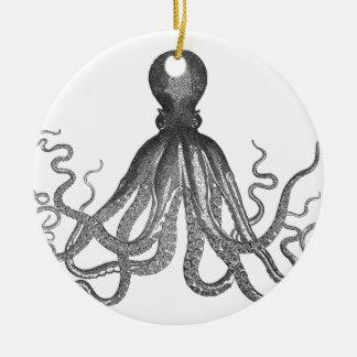 Kraken - Black Giant Octopus / Cthulu Ceramic Ornament