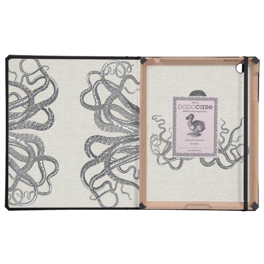 Kraken - Black Giant Octopus / Cthulu Cover For iPad