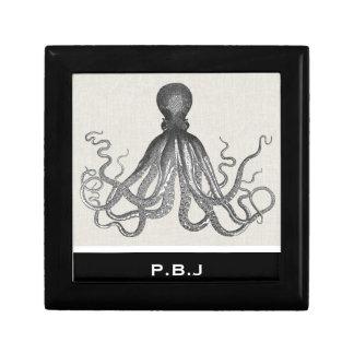 Kraken - Black Giant Octopus / Cthulu Gift Box