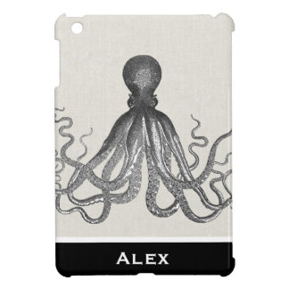 Kraken - Black Giant Octopus / Cthulu iPad Mini Covers