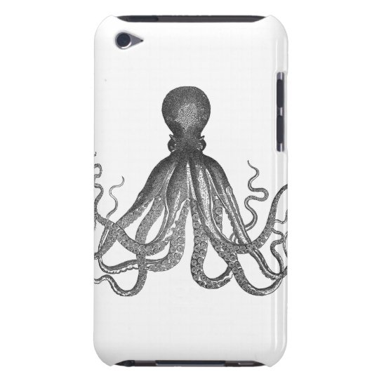 Kraken - Black Giant Octopus / Cthulu iPod Touch Case