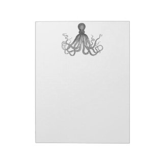Kraken - Black Giant Octopus / Cthulu Notepad