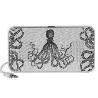 Kraken - Black Giant Octopus / Cthulu Travelling Speakers