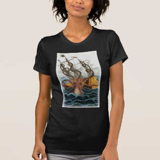 Kraken by Pierre Denys de Montfort, 1801 T Shirt