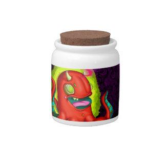 Kraken Candy Jars
