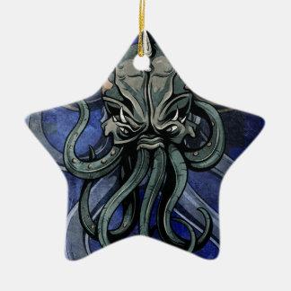 Kraken Ceramic Ornament