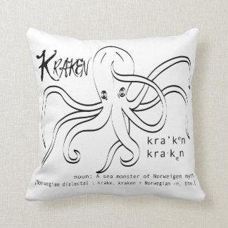 Kraken Definition Pillow