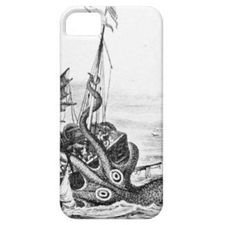 Kraken Eatting a Sailing Ship iPhone SE/5/5s Case