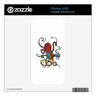Kraken_h6_rainbow_4 Calcomanías Para El iPhone 4S