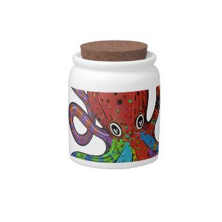 Kraken_h6_rainbow_4 Candy Jars