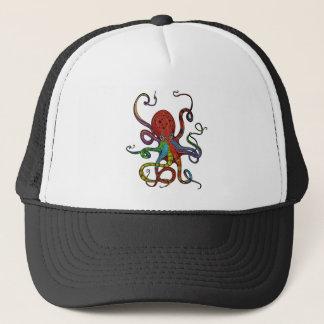Kraken_h6_rainbow_4 Trucker Hat