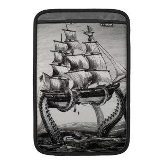 "Kraken Holding Pirate/Sailing Ship 11"" MacBook Air Sleeves For MacBook Air"