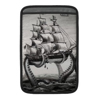 "Kraken Holding Pirate/Sailing Ship 11"" MacBook Air MacBook Sleeve"