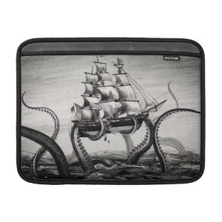 "Kraken Holding Pirate/Sailing Ship 13"" MacBook Air MacBook Air Sleeve"