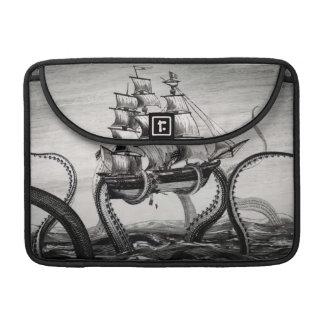 "Kraken Holding Pirate/Sailing Ship 13"" MacBook Pro Sleeves For MacBook Pro"