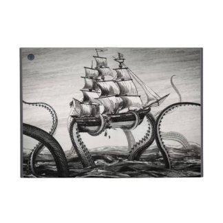 Kraken Holding Pirate/Sailing Ship iPad Mini Folio iPad Mini Case