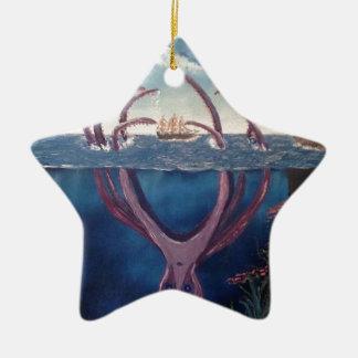 kraken.jpg ceramic ornament