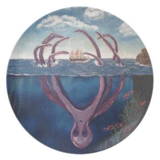 kraken.jpg dinner plate