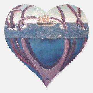 kraken.jpg heart sticker