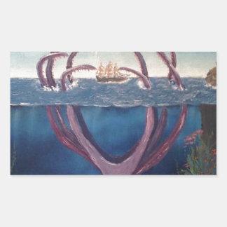 kraken.jpg rectangular sticker