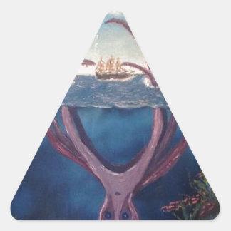 kraken.jpg triangle sticker