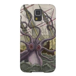 Kraken/Octopus Eatting A Pirate Ship, Color Galaxy S5 Case