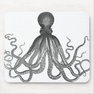 Kraken - pulpo gigante negro/Cthulu Mousepad