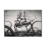 Kraken que sostiene el pirata/folio del iPad del v iPad Mini Cobertura