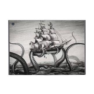 Kraken que sostiene el pirata/folio del iPad del v iPad Mini Carcasas