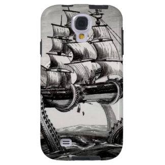 Kraken que sostiene la galaxia S4 de Samsung de la Funda Galaxy S4