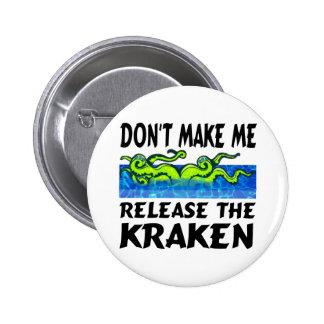 Kraken release the kraken 2 inch round button