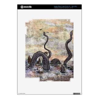 Kraken! iPad 3 Skins