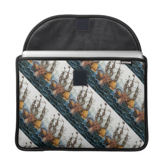 Kraken Steampunk Vintage Giant Octopus Pattern Sleeve For MacBooks