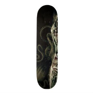 Kraken under water skate board deck