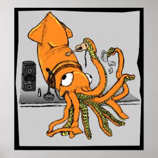 Kraken's First Gig: Print