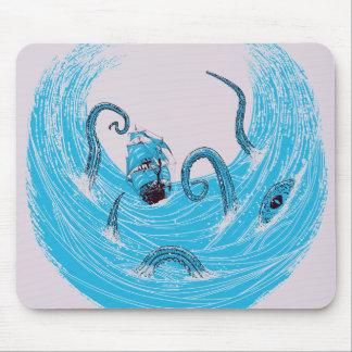 Kraken's Whirlpool Mousepad