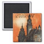 Krakow 2 Inch Square Magnet