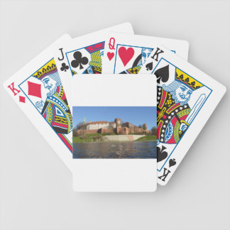 krakow bicycle playing cards