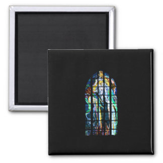 Krakow Church of St. Francis Stained Glass Fridge Magnets