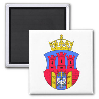 Kraków Coat of Arms 2 Inch Square Magnet