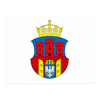 Krakow Coat of Arms Postcard