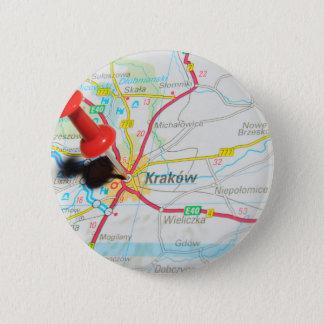 Kraków, Krakow, Cracow in Poland Button