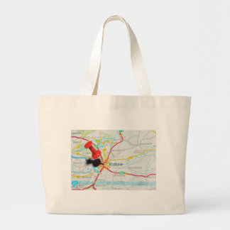 Kraków, Krakow, Cracow in Poland Large Tote Bag