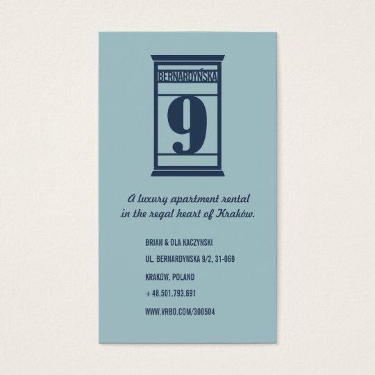 Krakow Luxury Rental Card