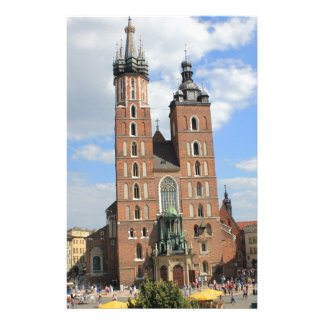 Krakow, Mariacki Church, St Mary's church, gifts Stationery