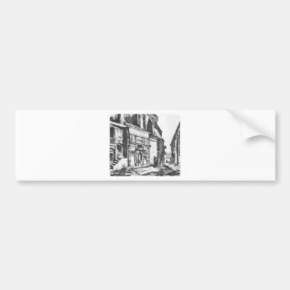 Krakow morgue by Jan Matejko Bumper Sticker